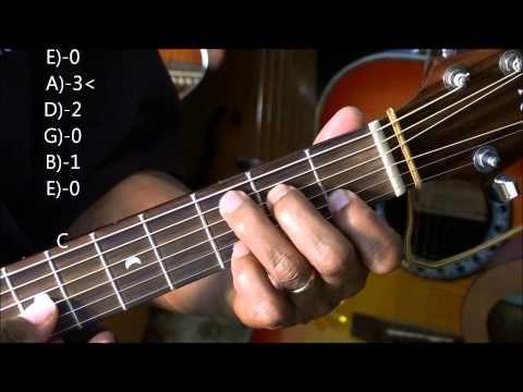 Folk Acoustic Chord Walk Down Progression In G Major Lesson ...