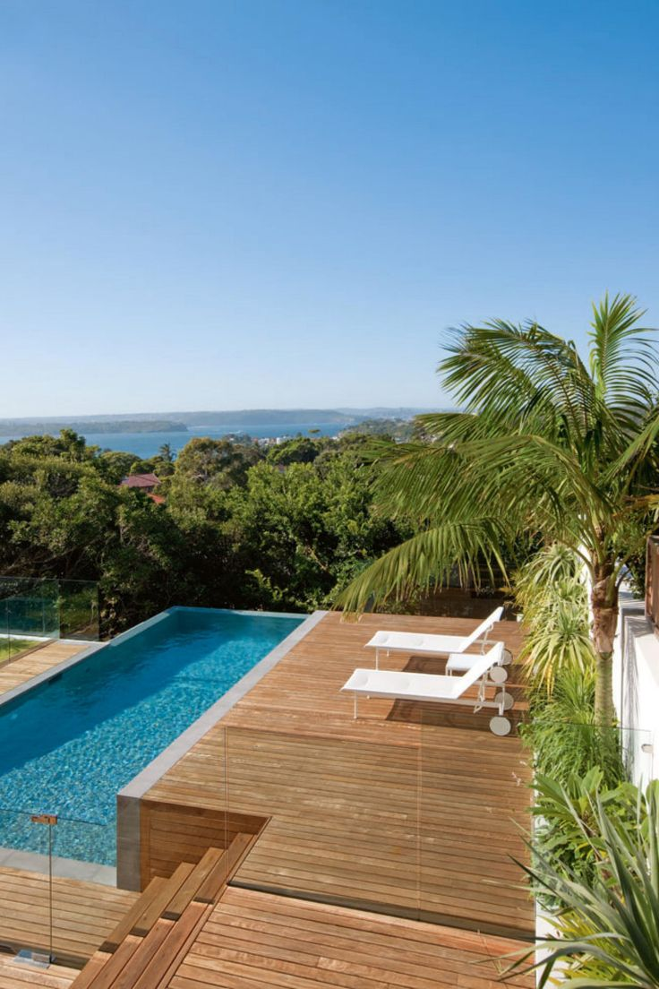 High Quality From A Stunning Harbourside Home. Styling By Jason Grant. Photography By  Lucas Allen. Out MagazineLuxury PoolsPool LandscapingPool DesignsSwimming  ...