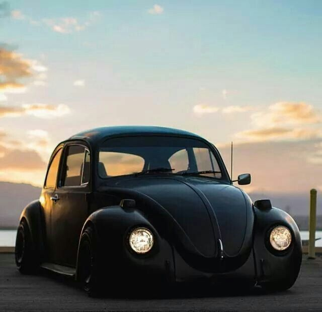 Blacked Out Slammed - Bug | Nasty Habits | Pinterest | Beetle, Vw beetles and Volkswagen