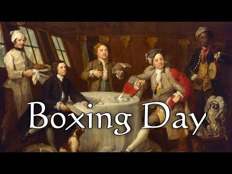 Origins of Boxing Day - YouTube
