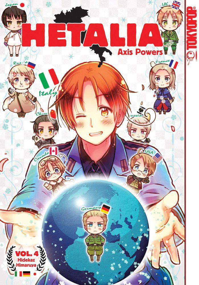 Hetalia Axis Powers Manga 4