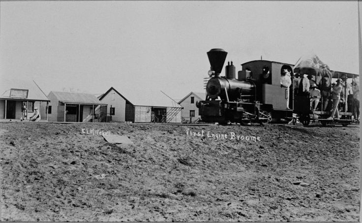024226PD: First engine, Broome, 1920 https://encore.slwa.wa.gov.au/iii/encore/record/C__Rb2056888