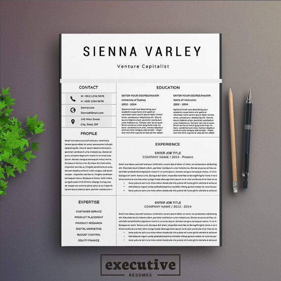 12 best Resume \/ CV Templates images on Pinterest Curriculum, Cv - 2 page resume