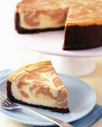 Pumpkin Swirl Cheesecake | Thanksgiving | Pinterest