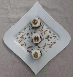 kecskesajtos-céklás-diós-cukkinis vendégváró falatok (gluténmentes, tojásmentes) / Recept / dió, kecskesajt, fokhagyma, cukkini, cékla