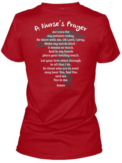 Nurse Prayer - Limited Edition