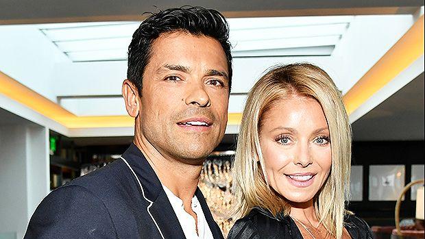 Kelly Ripa and her husband Mark Consuelos