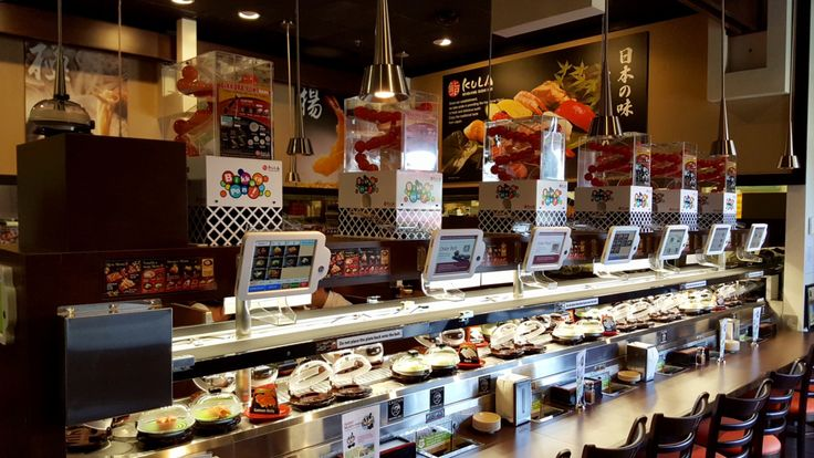 "If you want to experience sushi served up in a nontraditional way, take note of Kula Revolving Sushi Bar. The concept combines elements of dim sum with automation by bringing sushi to diners via a conveyor belt that runs through the restaurant. This type of sushi restaurant is known as kaiten-zushi, meaning ""rotation sushi.""  Kula..."
