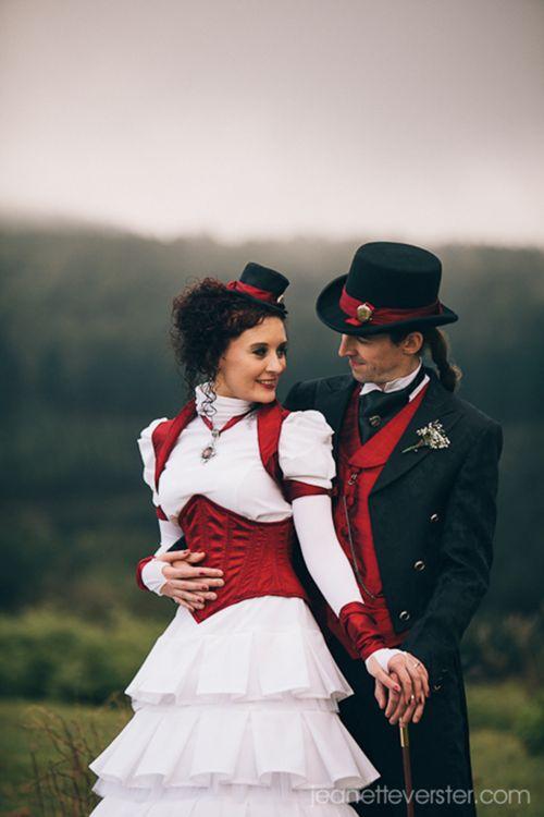 Elegant steampunk couple     (42) Tumblr