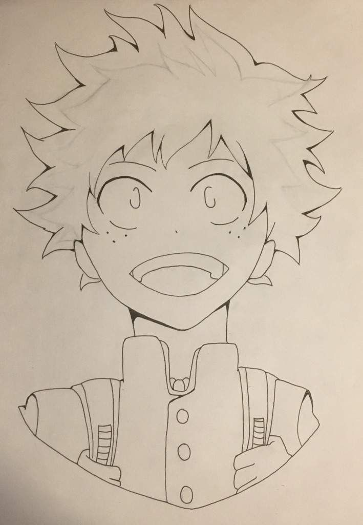 My Hero Academia Drawing Easy Pencil Drawingsketch101 Com In 2020 Anime Drawings Boy Anime Drawings Anime Character Drawing