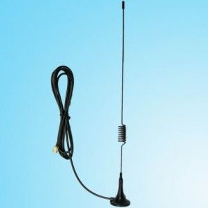 GSM External Antenna compatible with all our devices.  Featuring a high gain antenna with a magnetic base so that it can be attached to any metallic surface.