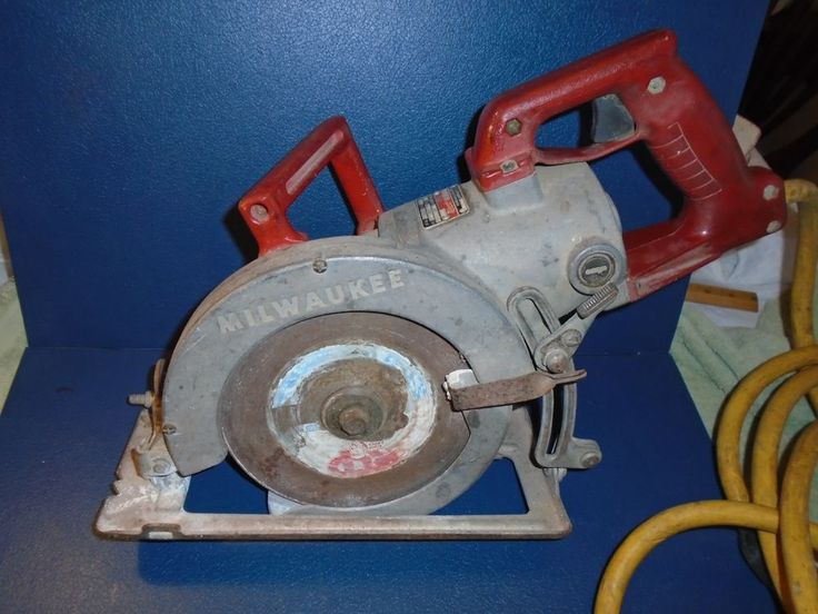 Milwaukee Worm Drive  7 1/4 in. saw.  15 Amp worm drive circular saw #Milwaukee