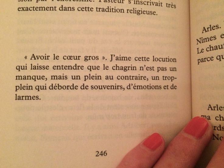 Avoir le cœur gros Journal extime, M. Tournier