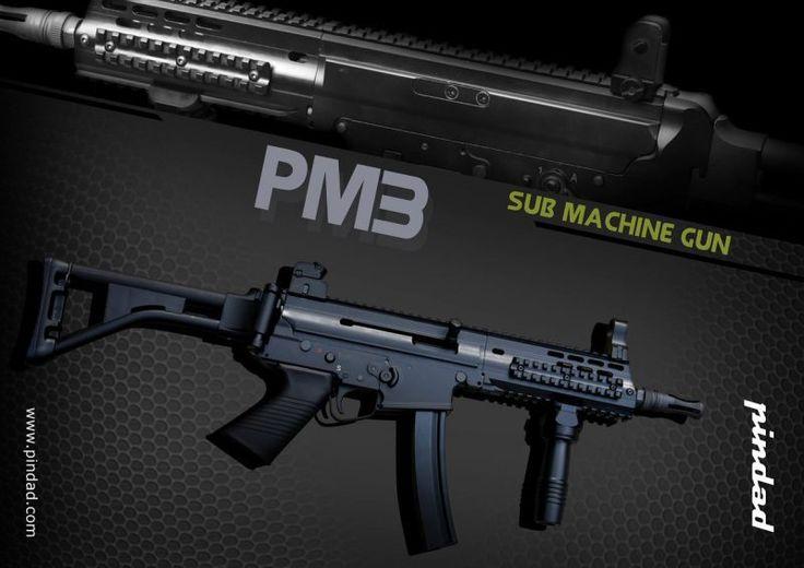pindad sub machine gun