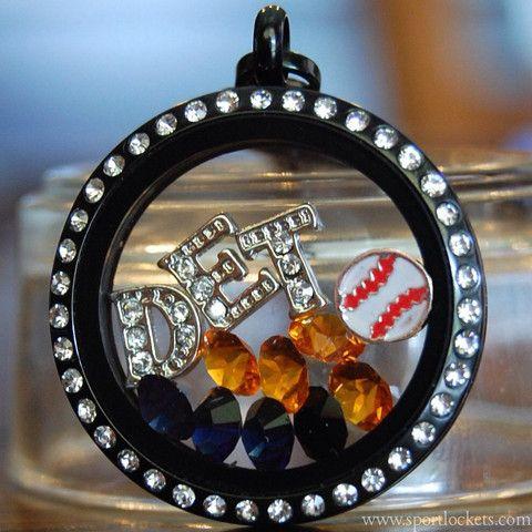 Detroit Tigers baseball locket necklace – SportLockets.com