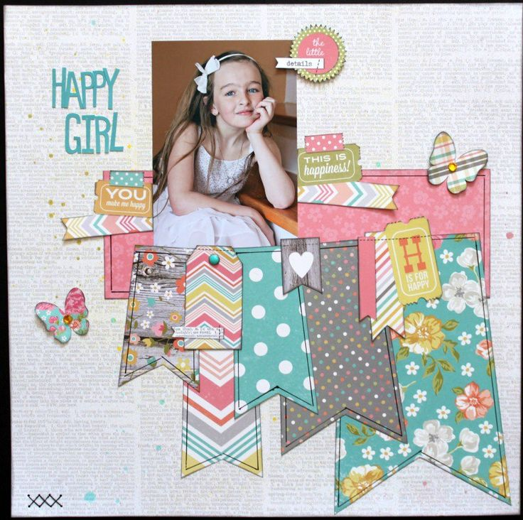 Beautiful layout using our Simple Stories Vintage Bliss collection, shared with us on Facebook by Michelle Arseneault Gallant