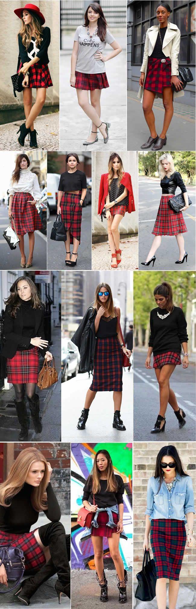 xadrez-vermelho-tartan-moda-inverno-2014-saias
