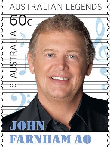 2013 Australia Post Legends John Farnham Ao