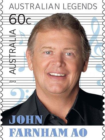2013 Australia Post Legends John Farnham Ao