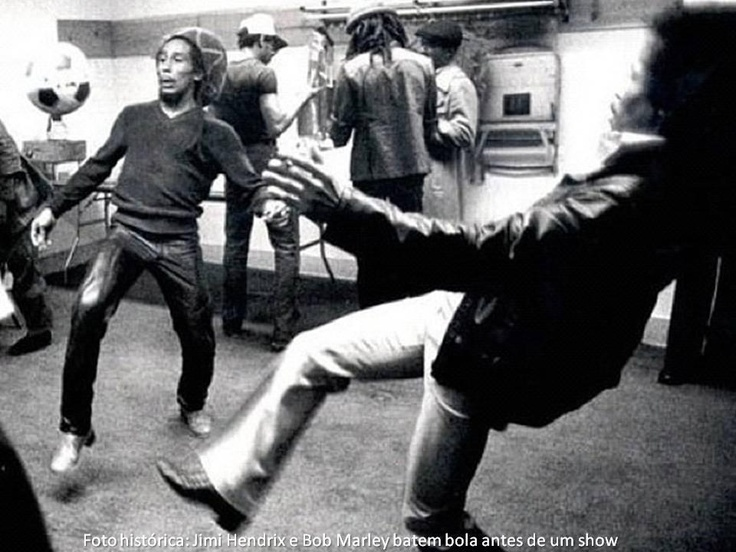Jimmy Hendrix Bob Marley