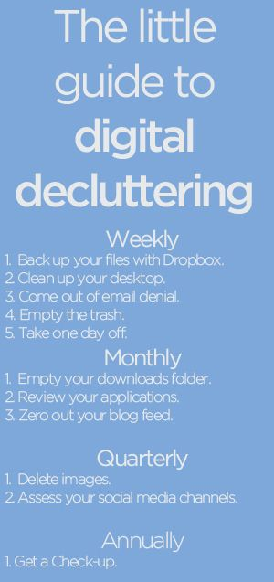 The Little Guide to Digital Decluttering