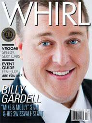 talent network news: Billy Gardell Covers This Month's WHIRL Magazine   Documents His Love of Pittsburgh