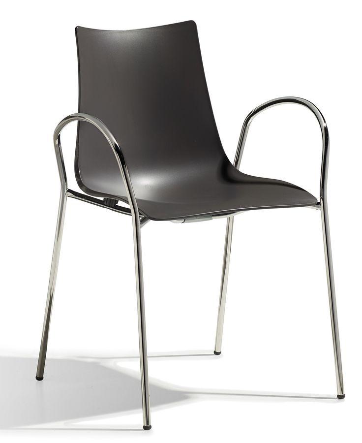 Zebra Tech Braccio stoel - Scab - Antraciet