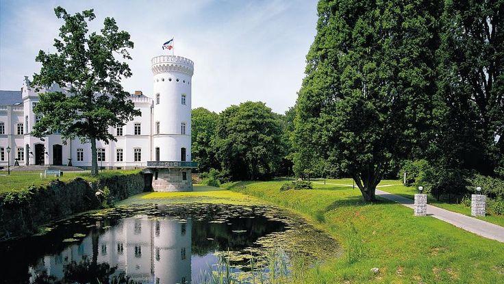 Schlosshotel Schlemmin mit Park, Vorpommern, Fischland-Darß-Zingst, © TMV/Werk3