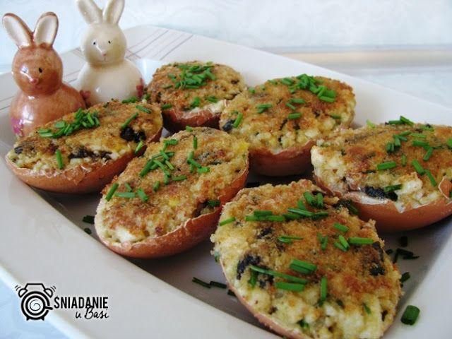 Śniadanie u Basi : Jajka faszerowane po polsku wg Magdy Gessler