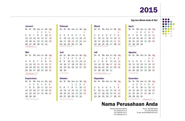 Kalender 2015 Indonesia - Design_28_Network