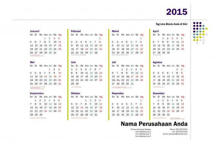 Kalender 2015 Indonesia - Design_28_Network