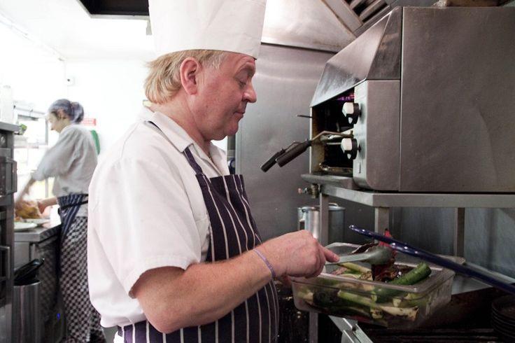 Head Chef Stuart hard at work :)