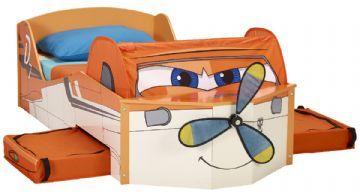 Flyvemaskiner Dusty juniorseng u. madras - Børnemøbel 652268 Shop - Eurotoys - Børnemøbler online