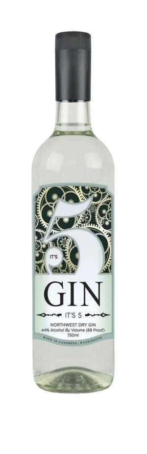 It's 5, Northwest Dry Gin, Washington