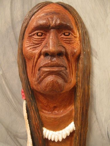 Images about wood carved native americans on