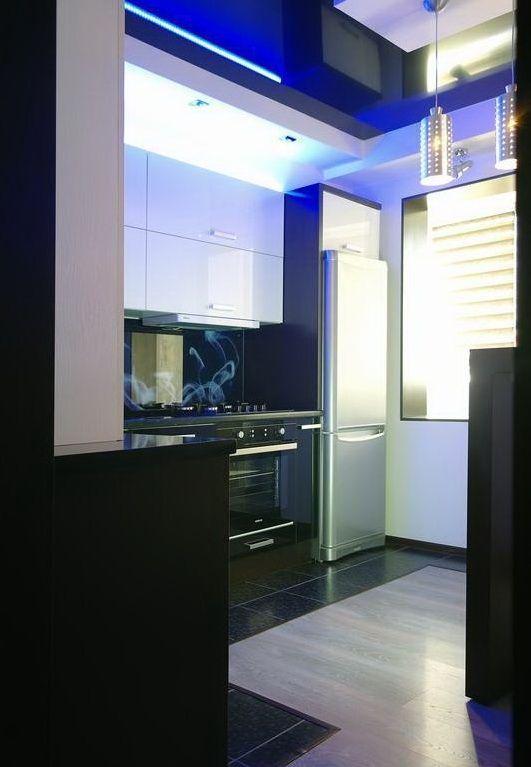 Стык ламината и плитки на полу на кухне (15 фото)