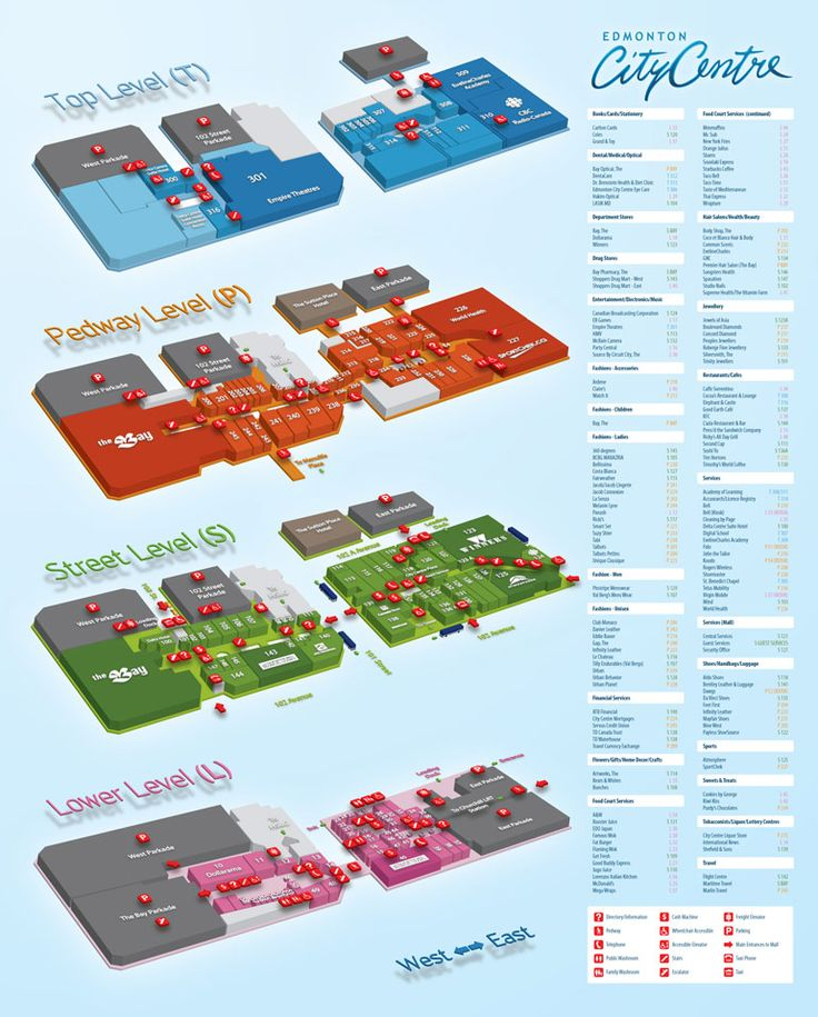 21 Best Images About Mall Maps On Pinterest Behance