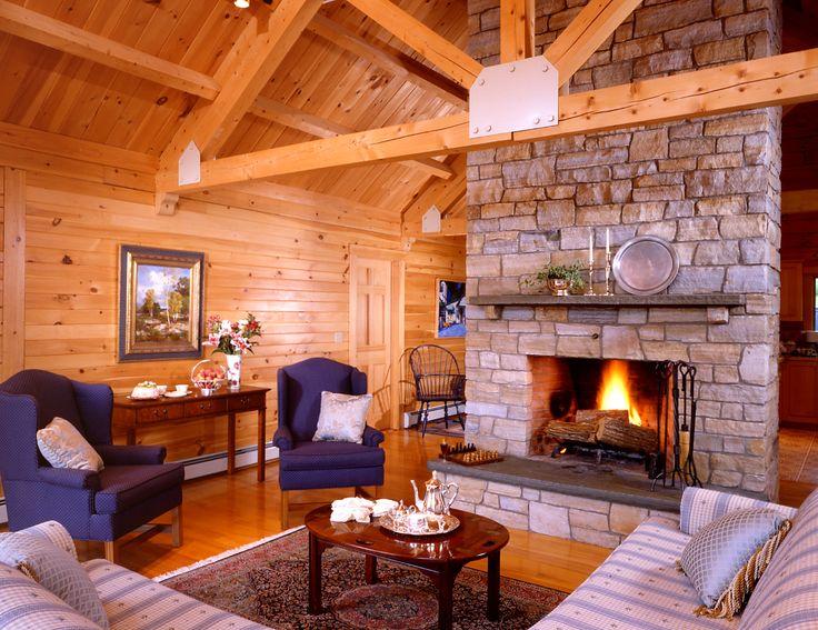 log cabin homes | Log Home Plans & Log Cabin House Plans – The House Plan Shop