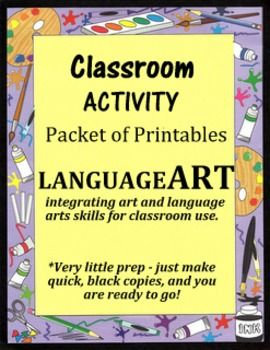 PROJECT OVERVIEW PURPOSE  An Activity Packet of printables    Kids get to have fun throughout the school year as they color  interact with each other  and answer questions   great any time  but primarily  reflecting on their year and the Summer ahead