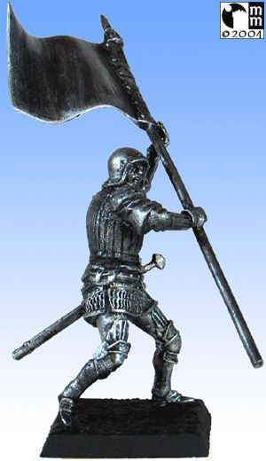 Mindstalkers: soldiers generic for factions of Milan and Venice. Standard Bearer without sword 04