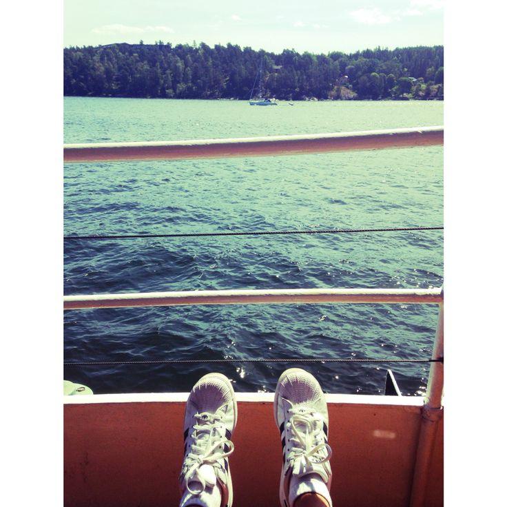 Boat trip Stockholm summer 14