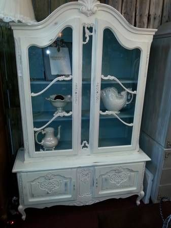 Gorgeous china cabinet for sale at De France Flea Market in Fort Walton Beach, FL