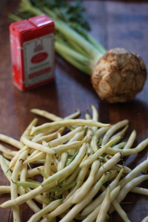 Recipe: Hungarian Yellow Wax Bean Soup