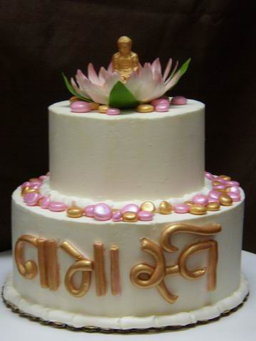 Buddha Celebration Cake Short N Sweet Bakery Amp Cafe