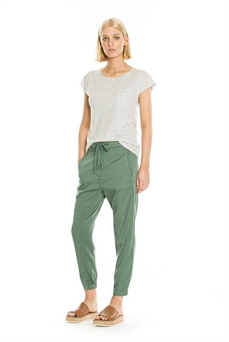Soft Harem Pant - Size 4