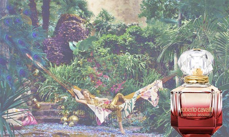 Paradiso Assoluto Roberto Cavalli, il profumo - https://www.beautydea.it/paradiso-assoluto-roberto-cavalli/ - Immaginate un giardino ricco di fiori e profumi, ai confini della realtà. Un luogo magico, dove nasce Paradiso Assoluto di Roberto Cavalli, il nuovo Eau de Parfum!