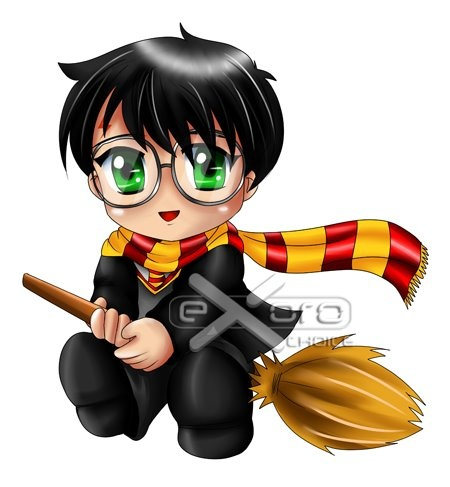 34++ Cute chibi harry potter coloring pages trends