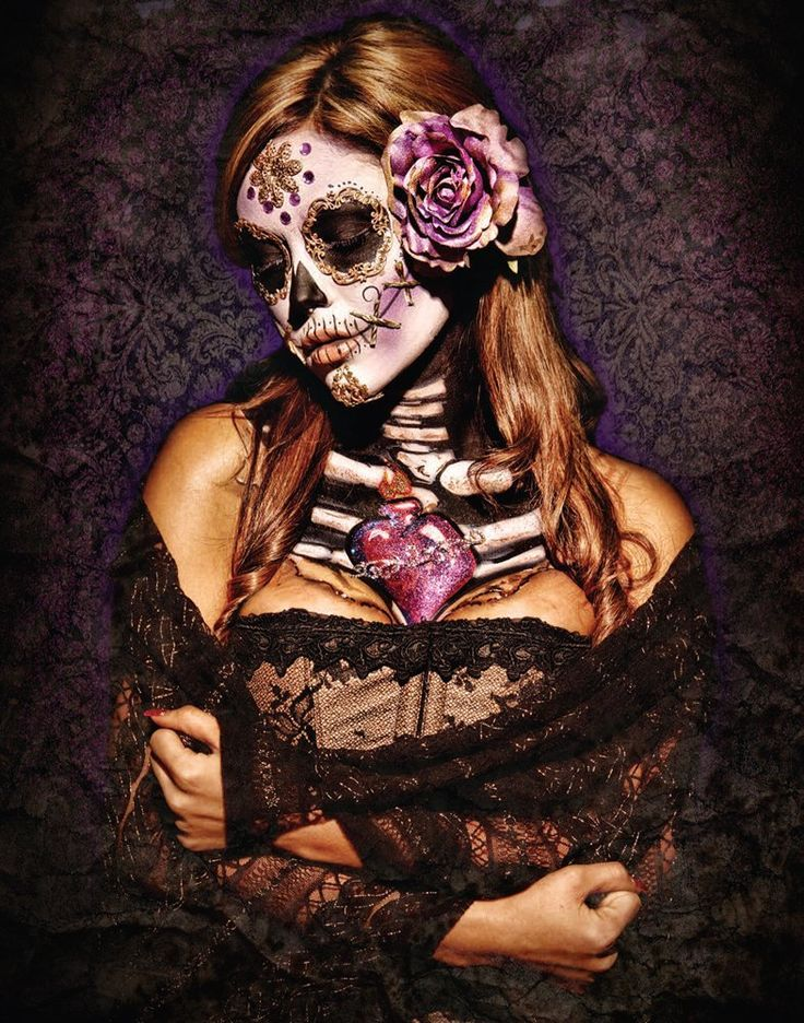 The 25  best Sugar skull girl ideas on Pinterest