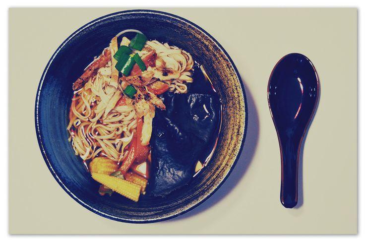 Miso e Shiitake Ramen ovvero Zuppa di Ramen #Ramen #Ricette #Asiatiche #Zuppa #Soup #Miso #Pinalapeppina