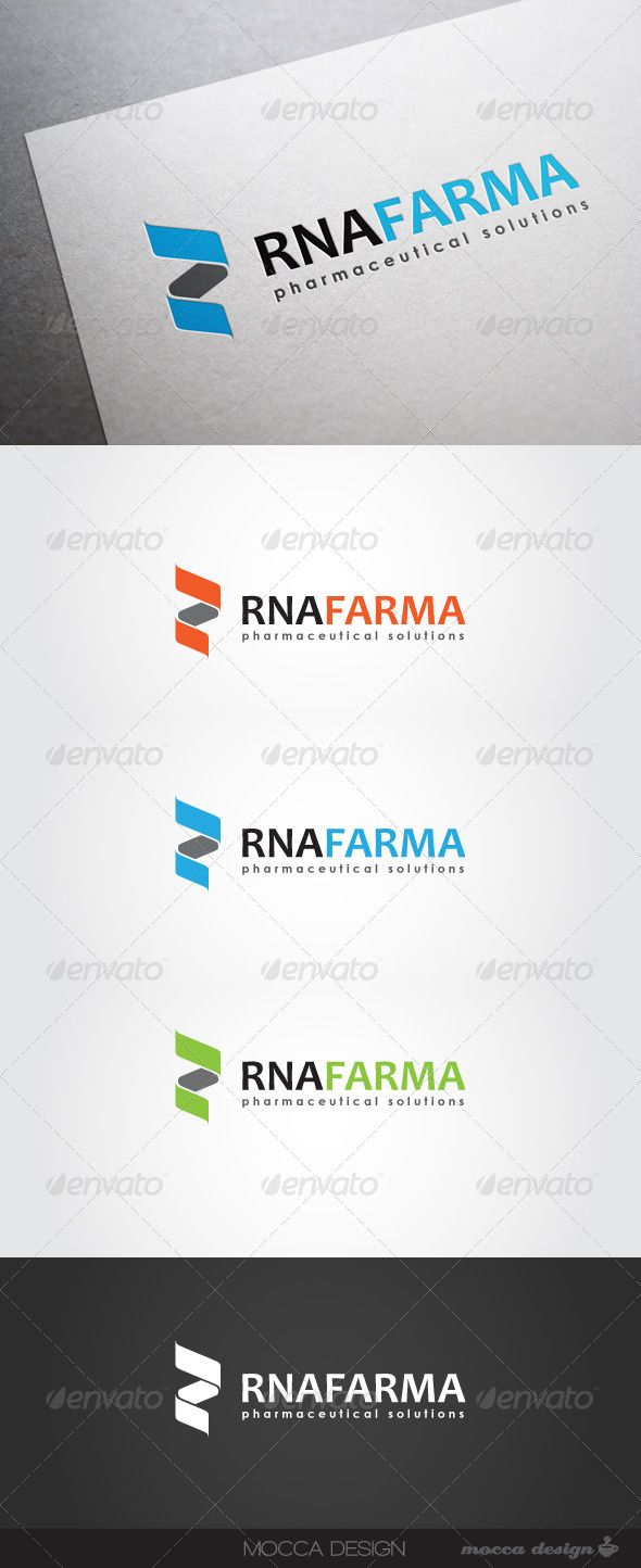 RNAfarma Logo  #GraphicRiver         RNAfarma is a clean, professional and elegant logo suitable for pharmaceutical laboratory research, pharmaceutical industry, a hospital, medicine, health care, wellness or cosmetic business, genetic research, DNA or RNA, chemical companies or any other business related.
